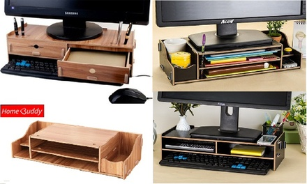 $17.90 for a HomeBuddy Monitor Desktop Organiser (worth $49.90). 3 Models