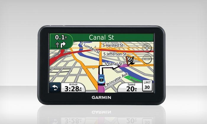 "Garmin nüvi 50LM GPS with Lifetime Maps: $79.99 for a Garmin nüvi 50LM 5"" GPS (Manufacturer Refurbished) ($149.99 List Price). Free Shipping and Returns."