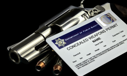 Concealed Carry Certificate Class for One or Two at Regions Guns and Ammo (Up to 65% Off)