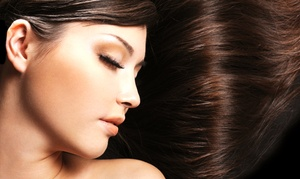 Shear Design Salon and Spa: Keratin and Moisture Treatment with Hairstyling and Haircut at Shear Design Salon and Spa (Up to 52% Off)