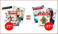 9,99 pour un abonnement de 8 semaines au magazine Le VifL'Express