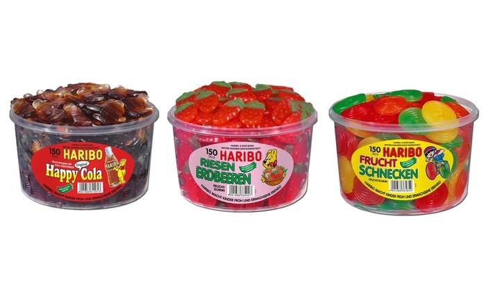 Groupon Goods Global GmbH: Haribo®: 150 pièces ou 3 kg de bonbons