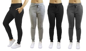 Women's Skinny-Fit French Terry Jogger Sweatpants