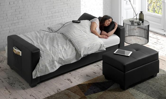 Divano letto massaggio e penisola groupon for Groupon divano letto
