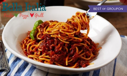 Two or ThreeCourse Meal with Drinks for Up to Six at Bella Italia