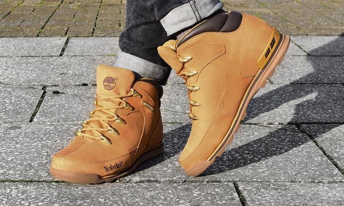 51123c3d96f Timberland Euro Rock Hiker Boots | Groupon