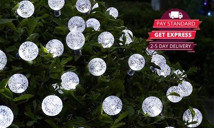 for a Range of Christmas Solar LED Lights