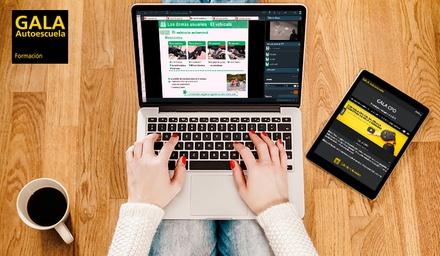 Curso online de preparación para el examen teórico del permiso de conducción clase B por 24,50 € con Autoescuela Gala