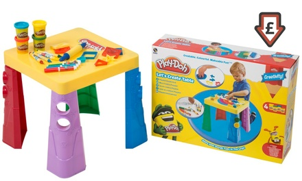 PlayDoh Let's Create Table for £17.99