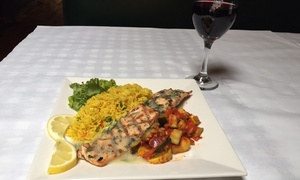 St James Restaurant: Irish-American Comfort Food and Drinks for Two or More at St James Restaurant (Up to 46% Off)
