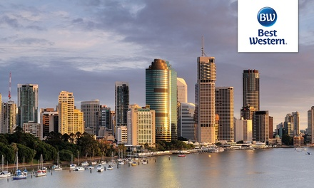 Brisbane, Queensland: 1 or 2-Night City Escape for Two with Late Check-Out at 4* Best Western Astor Metropole