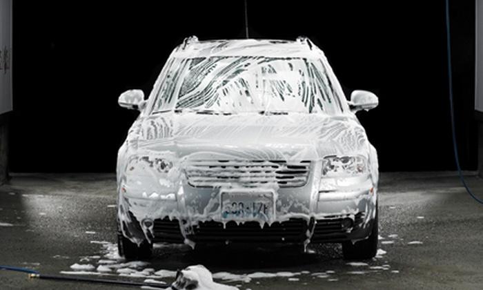 Rocket Express Car Wash - Alkire Acres: Four Basic, Deluxe, or Supreme Washes at Rocket Express Car Wash (Half Off)