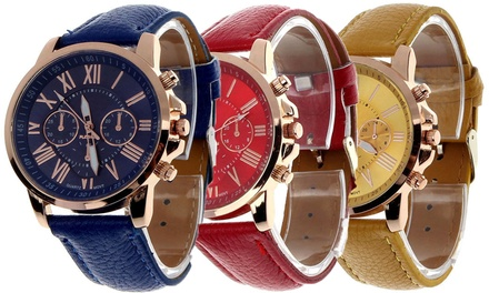 Armbanduhr für Damen in der Farbe nach Wahl (56% sparen*)