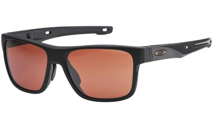Oakley Crossrange Matte Black Prizm Dark Golf Sunglasses