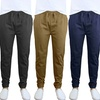 Galaxy By Harvic Men's Cotton Stretch Twill Joggers (2-Pack)