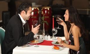 Mainkai Cafe: 3-Gänge-Valentinstags-Menü für 2 Personen inkl. je 1 Glas Sekt im MAINKAI CAFÉ (41% sparen*)