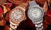August Steiner Women's Diamond Bracelet Watch