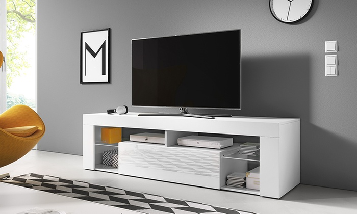 selsey living tv lowboard 160 cm groupon goods. Black Bedroom Furniture Sets. Home Design Ideas