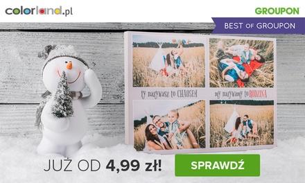 Od 4,99 zł: fotoobraz z Twoim zdjęciem na prawdziwym płótnie canvas na Colorland.pl (do -96%)