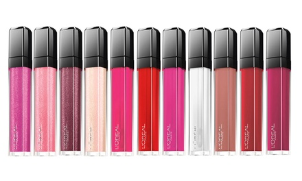 Four L'Oreal Infallible Lip Glosses