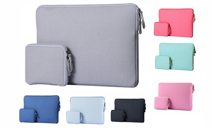 Protective Sleeves and Pouches for 11'' or 13'' MacBooks in Choice of Colours for AED 79 (56% Off)
