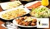 2名分~|ポテト&チーズナン食べ放題等6品+飲放