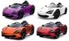 Elektrische McLaren-auto
