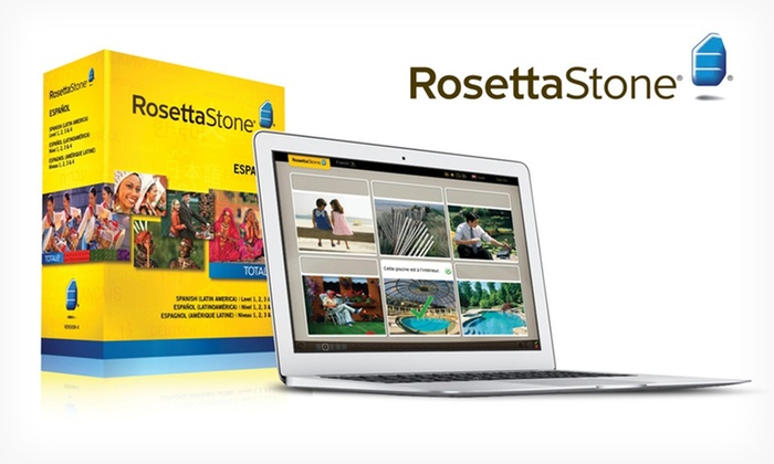 Rosetta Stone Language Course: $229.99 for a Rosetta Stone Version 4 TOTALe French, Italian, or Spanish Level 1–4 Set ($449 List Price). Free Shipping.