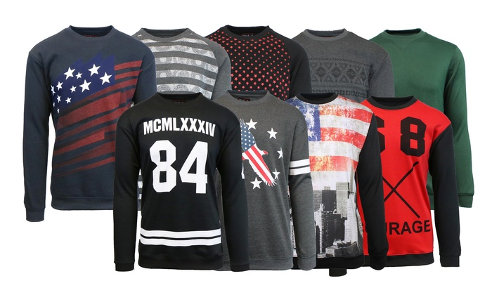 Men's Printed Pullover Mystery Deal