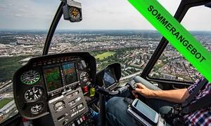 Level One Foto / Heliflug: Helikopter-Flug mit 15, 20, 26 oder 35 Min. Hubschrauber-Betriebszeit mit Level One Foto Heliflug (bis zu 60% sparen*)