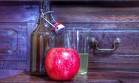 Cider Making, Tasting, Farm Tour and Lunch for Two or Four at Willow Farm Gourmet