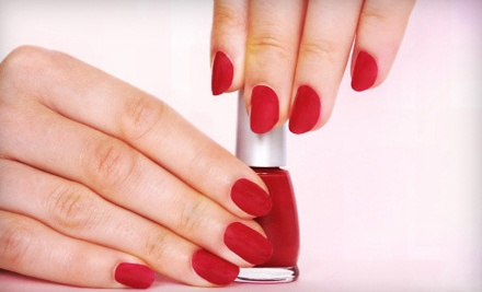 One or Three Regular Manicures with Gel Color at Nails by Rosa at Pizazz Salon and Spa (Up to 61% Off)