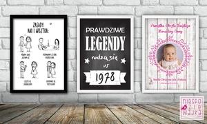 niespodziewajka.com: Ramka z personalizacją od 29,90 zł w niespodziewajka.com