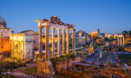✈ Rome and Venice: 4 or 6Night Break at a Choice of Hotels with Flights and Train Transfers*