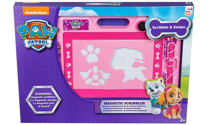 Large Magnetic Scribbler Trolls My Little Pony or Shimmer /& Shine Stencils Stamp