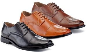 Franco Vanucci Mark Men's Cap-Toe Dress Shoes