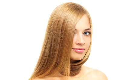 Haircut and Deep Conditioning with Optional Full Color or Balayage Highlights at Salon Charisma (Up to 71% Off)