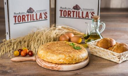 Tortilla a elegir para 2 personas con bebida en Tortilla´s Alicante (hasta 56% de descuento)