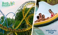 Deals on 3-Day Ticket to Busch Gardens Williamsburg and Water Country USA