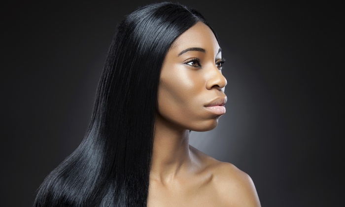 KatrinaJ Hair Studio - Gurnee: A Haircut and Smoothing Treatment from KatrinaJ Hair Studio  (40% Off)