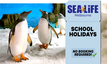 SEA LIFE Melbourne: Entry for Child $25.20 or Adult $37.80