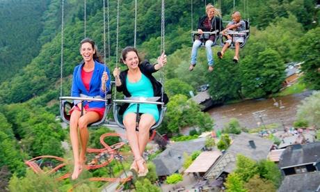 Einzelticket für den Freizeitpark Plopsa Coo für Besucher ab 1 m Größe