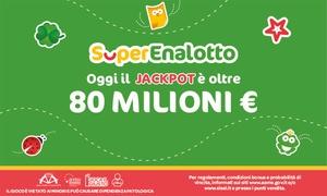 Sisal: Bonus di 12 € per giocare a SuperEnalotto