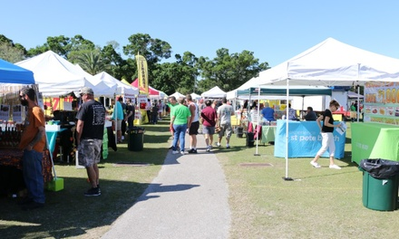 Admission to the Pinellas Pepper Fest on April 8 or 9, 2017 (Up to 50% Off).  Three Options Available.