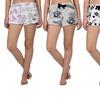 Juniors' Plush Sequin Shorts (3-Pack)