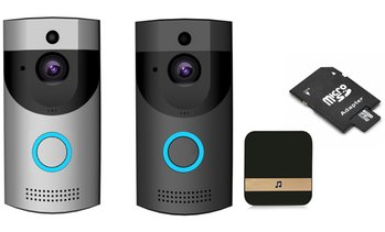 Wi-Fi Video Doorbell with Chime