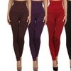 Women's High-Waisted Compression Leggings (6-Pack)