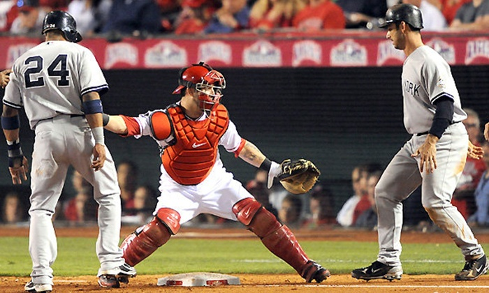 Los Angeles Angels vs. Seattle Mariners - Angel Stadium of Anaheim: Los Angeles Angels of Anaheim MLB Game at Angel Stadium on April 1 at 7:05 p.m. (Up to 62% Off)