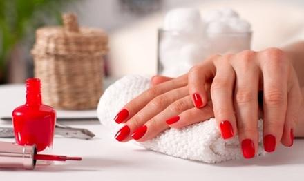One Dazzle-Dry Polish Studio Manicure or One Gel Polish Manicure at Kim's Corner Nail Studio (Up to 30% Off)