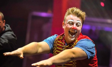 Two or Four Early Bird Tickets to Circus Zyair with Popcorn and Brochure, 3–25 July, Six Locations